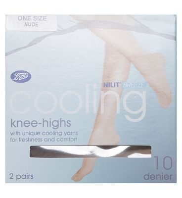 Boots Cooling Sheer Knee Highs (2 pack)