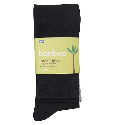Boots Bamboo diamond Knee Highs (2 pack)