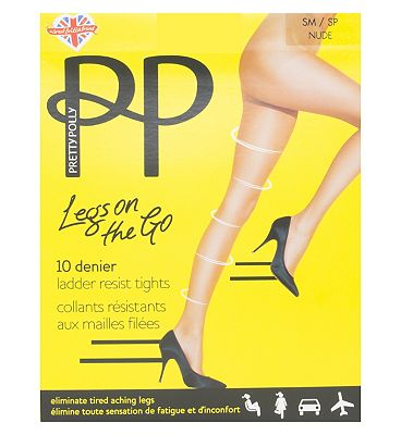 Pretty P Legs OnThe Go 10D Ladder Resist
