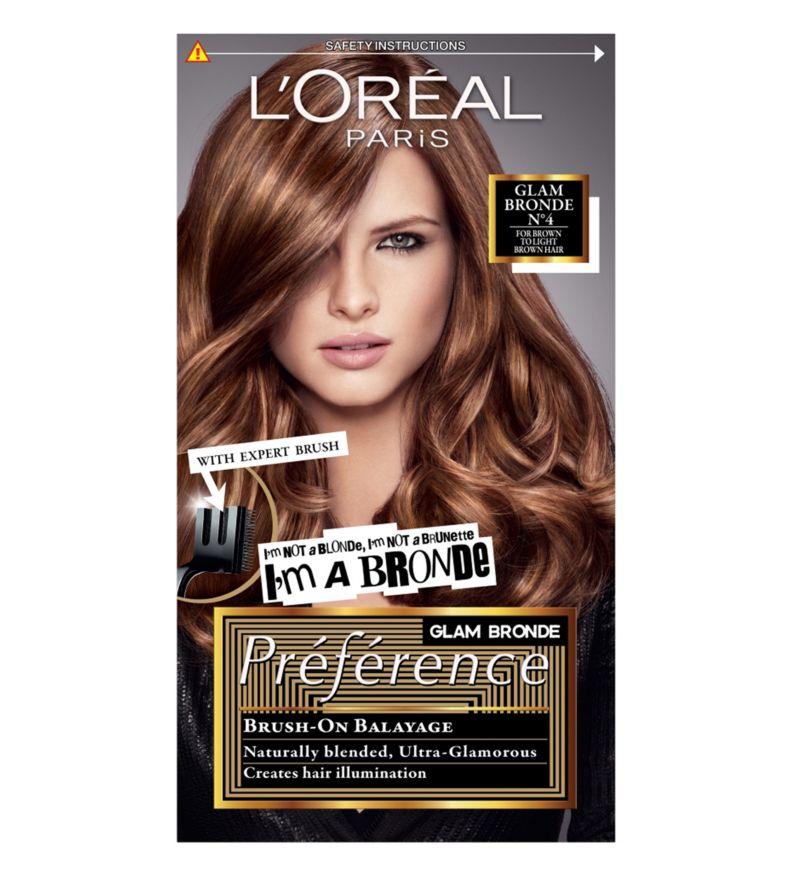 Preference Glam Bronde 04 Brown Permanent Hair Dye