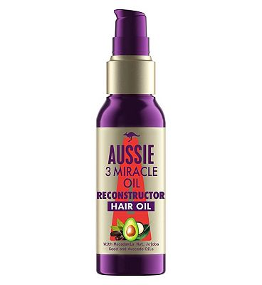 Aussie 3 Miracle Oil Reconstructor for Damaged Hair 100ml
