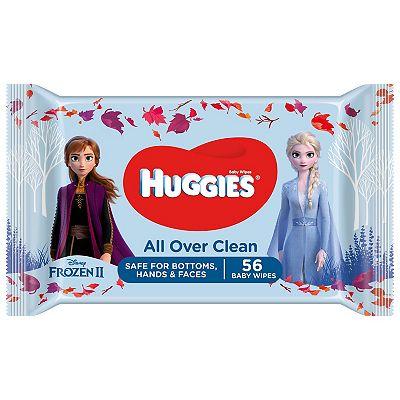 Huggies Baby Wipes Singles Disney 56s