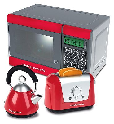 Morphy Richards Toy Microwave Kettle and Toaster