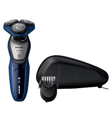 Philips Shaver series 5000 AquaTouch electric shaver S560041 with SmartClick Beard trimmer