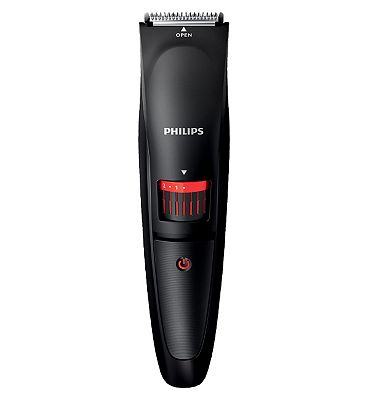 Philips Beard Trimmer Series 1000 BT40513 cordless use with adjustable length settings