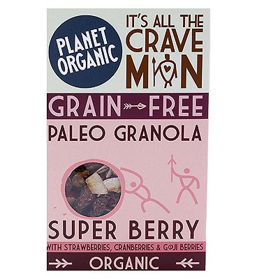 Planet Organic Paleo Granola Super Berry 350g