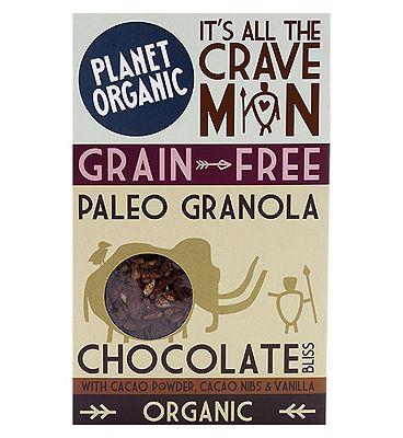 Planet Organic Paleo Granola - Chocolate Bliss 350g