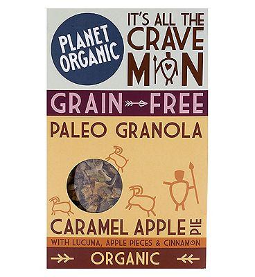 Planet Organic Pale Granola  Caramel Apple Pie 350g