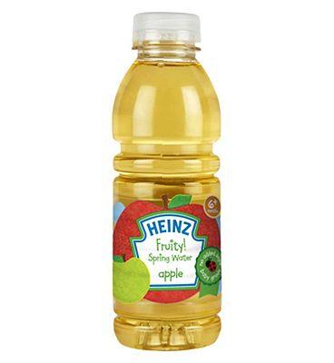 Heinz 6+ Months Fruity! Spring Water Apple 500ml