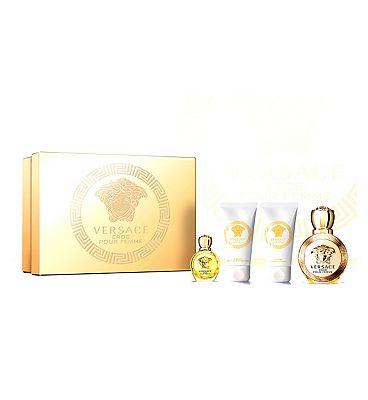 Versace Eros Pour Femme Eau de Parfum 50ml Gift Set Boots Exclusive