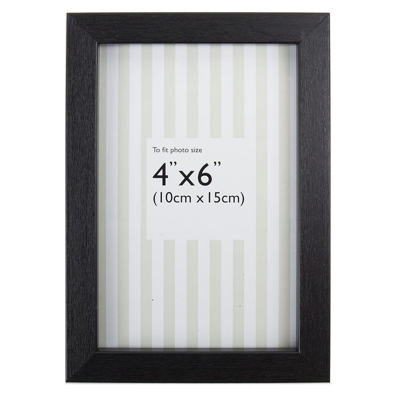 black photo frame 6x4 bluewater. Black Bedroom Furniture Sets. Home Design Ideas