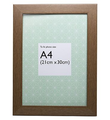 Image of A4 Grained Photo Frame
