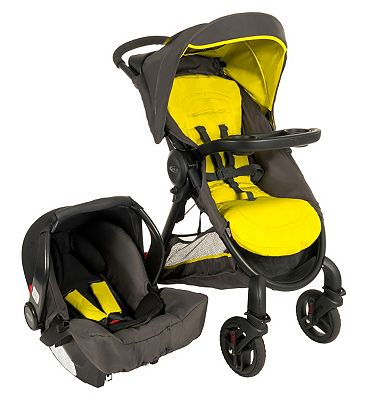 Graco Fast Action Fold 2.0 Sport Lime Travel System
