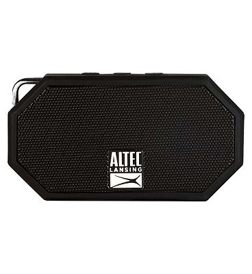 Image of Altec Lansing iMW257 Mini H2O Bluetooth Wireless Speaker- Black