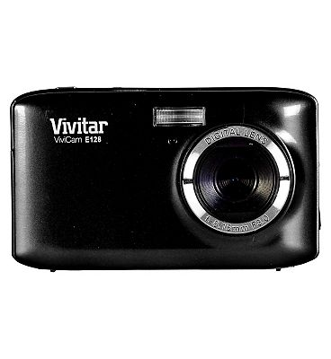 Vivitar VE128 Black (18mp 2.7 Inch Screen 4x Digital Zoom) Camera