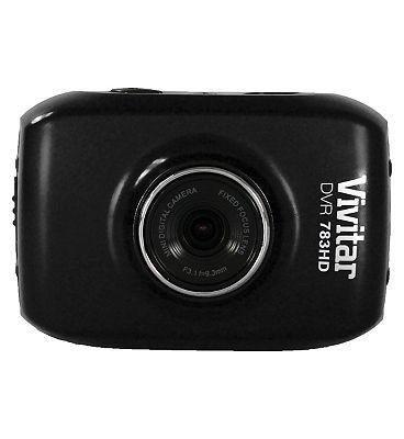 Vivitar DVR783HD 5mp 1.8inch LCD Action Cam  Black