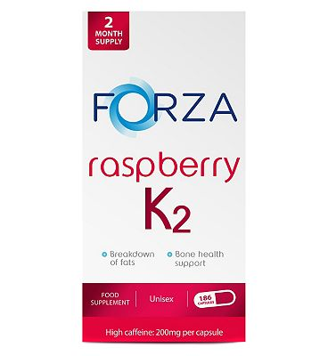 Forza Raspberry K2 186 Capsules (2 Month Supply)