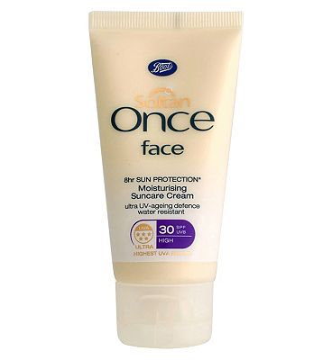 Soltan Once Face Moisturising Suncare Cream SPF30 50ml.