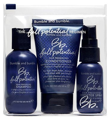 Bumble and Bumble Full Potential Travel Set.