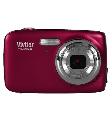 Vivitar F126 (14MP, 4x Digital Zoom, 1.8inch Display) Digital Camera - Pink