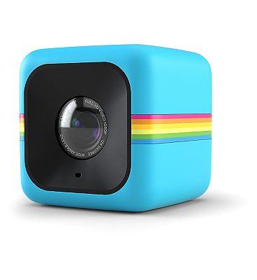 Image of Polaroid Cube Lifestyle 6mp Action Camera - Blue