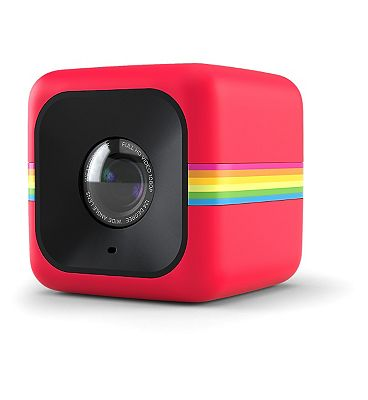 Image of Polaroid Cube Lifestyle 6mp Action Camera - Red