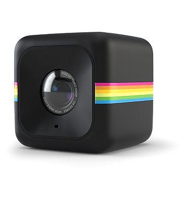 Image of Polaroid Cube Lifestyle 6mp Action Camera -Black