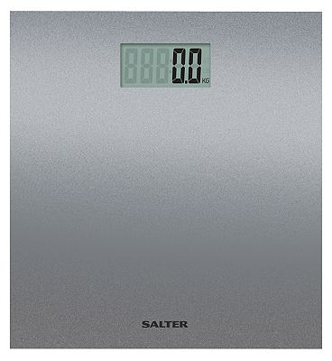 Salter Silver Glitter Electronic Personal Scale 9046