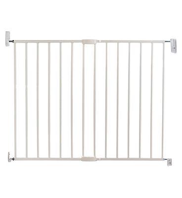 Lindam Push To Shut Extending Metal Wall Fix Baby Gate