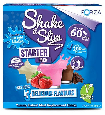 Forza Shake it Slim Meal Replacement Starter pack (7 day supply)