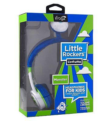 Image of iFrogz Little Rockers Headphones Monster Blue