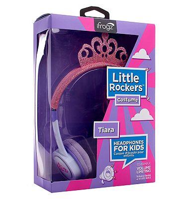 iFrogz Little Rockers Headphones Tiara Pink