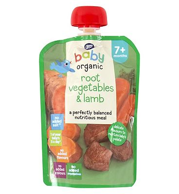 Boots Baby Orgainc Root Vegetables & Lamb 7+ months 130g