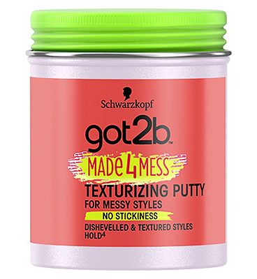 Schwarzkopf got2b Made4Mess Texturizing Putty 100ml.