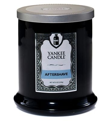 Yankee Candle Barbershop Gentlemens Candle Collection Aftershave Tumbler Candle