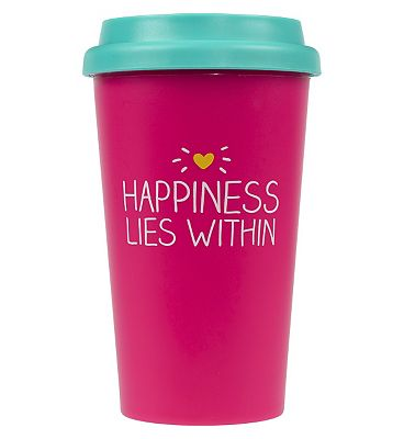 Happy Jackson Travel Mug Happiness Lies Within