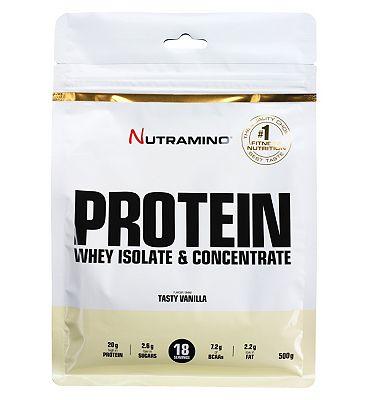 Nutramino Protein - Tasty Vanilla (500g).