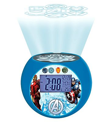 Image of Lexibook Avengers Alarm Clock