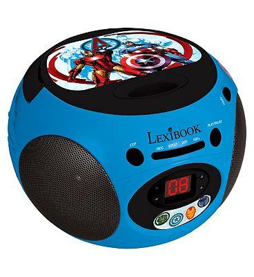 Image of Lexibook Avengers Radio Cd Player