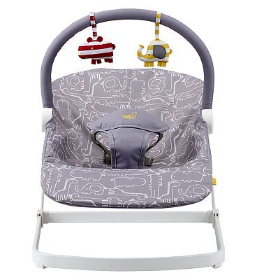 Bababing Float baby bouncer  Grey