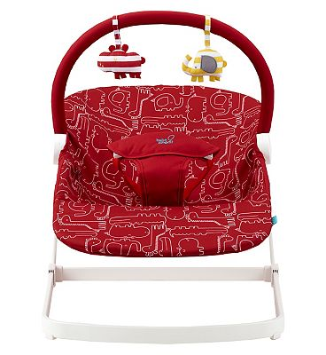 Bababing float baby bouncer - Red