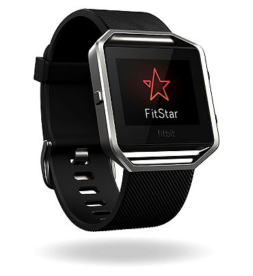 Fitbit Blaze Fitness Super Watch Classic Accessory Band  Black (Small)