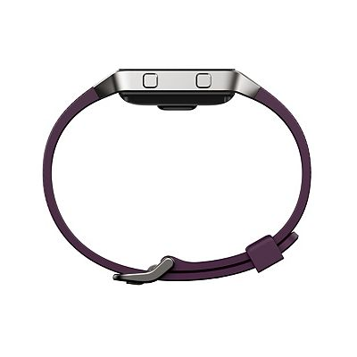 Fitbit Blaze Fitness Super Watch Classic Accessory Band  Plum (Large)