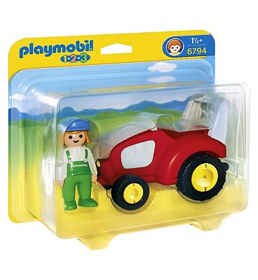 Playmobil 123  tractor
