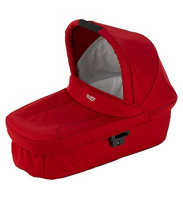 Britax Romer Hard Carry Cot - Flame Red