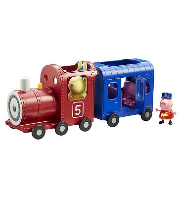 Peppa Pig miss rabbits train and carriage