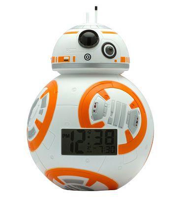 Image of BulbBotz Star Wars BB-8 Clock