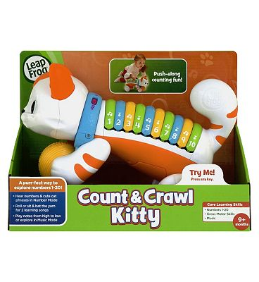 LeapFrog Count & Crawl Kitty.