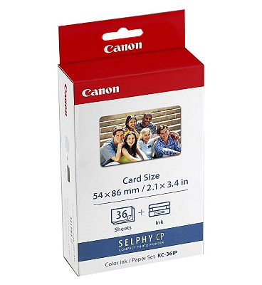 Canon Ink Paper Set Credit-Card Size