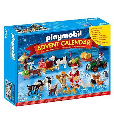 Playmobil Advent Calendar Christmas On The Farm 6624